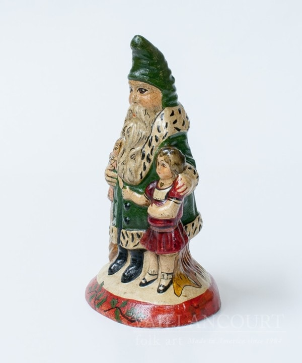 Father Christmas with Girl, Full Body (Painted by Judi), VFA Nr. 176