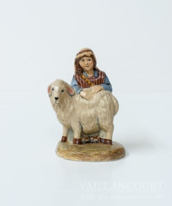 Shepherd Girl and Lamb - Nativity Collection, VFA Nr. 2004-55