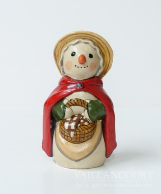 Colonial Snowlady with Red Cape, VFA Nr. 2007-78