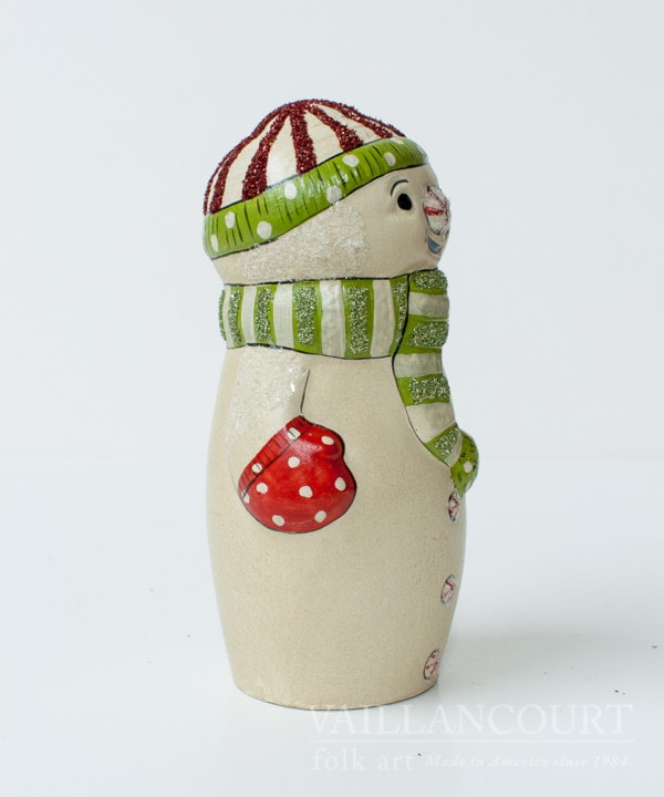 Snowman with Knit Cap and Scarf, VFA Nr. 2009-FG8