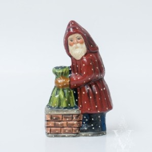 Father Christmas Stuffing Sack Down Chimney, VFA Nr. 593