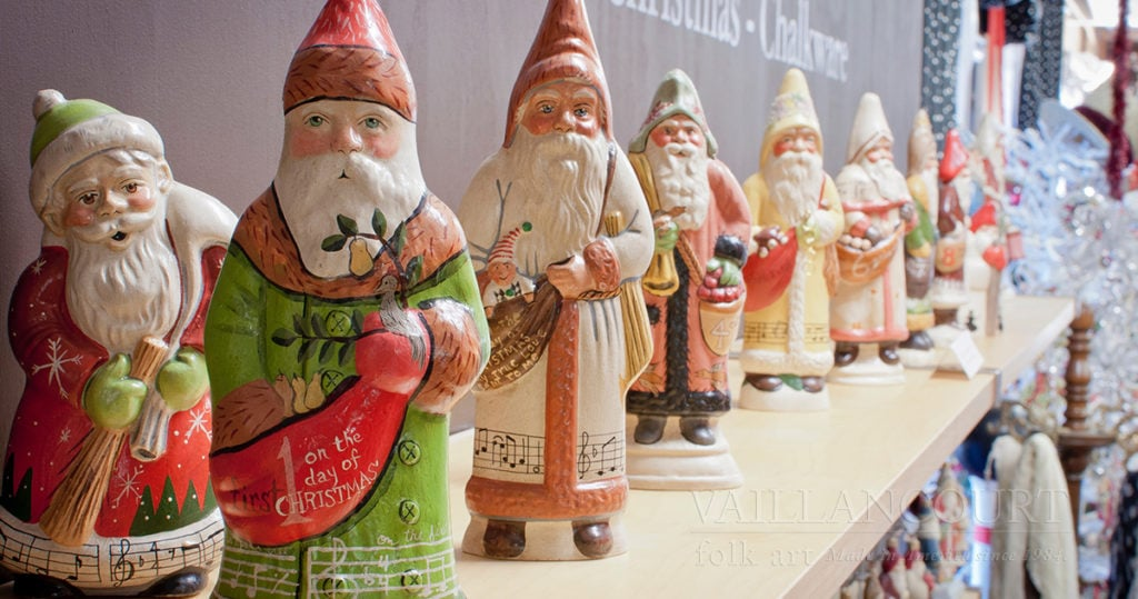 Twelve Days of Christmas Chalkware
