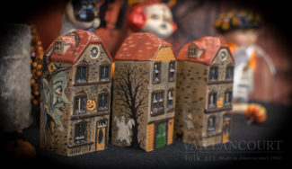 Assorted Haunted House Chalkware New for 2016