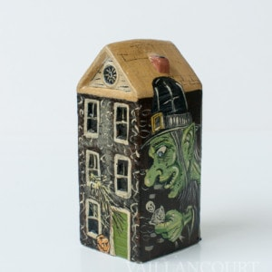 Assortment of Haunted House Chalkware, the 3rd variation. VFA Nr. 16027