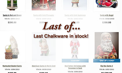 Last In Stock Chalkware