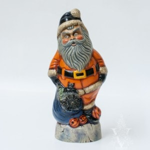 Halloween Santa On Ghost and Snake With Witch In Bag, VFA Nr. 18100
