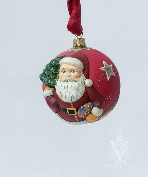 """Jingle Balls"" Classic American Santa with Tree, VFA Nr. OR19511"
