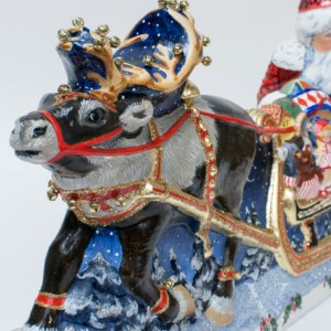 Midnight Delivery Large Sleigh, VFA Nr. 19075